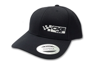 CageWrx Curved Bill Snapback - Black