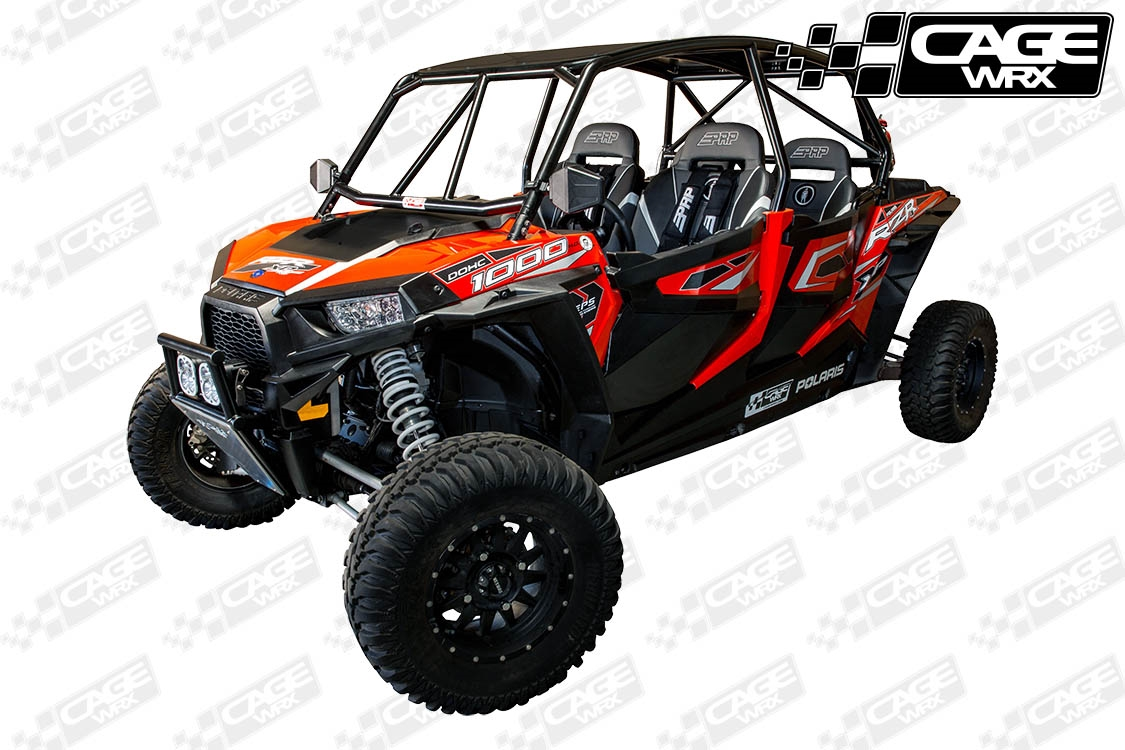 Polaris Rzr Xp4 1000 Assembled Roll Cage Baja Spec