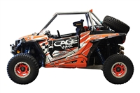 CageWrx Race Cage roll cage assembled RZR XP 1000 polaris UTV utility vehicle