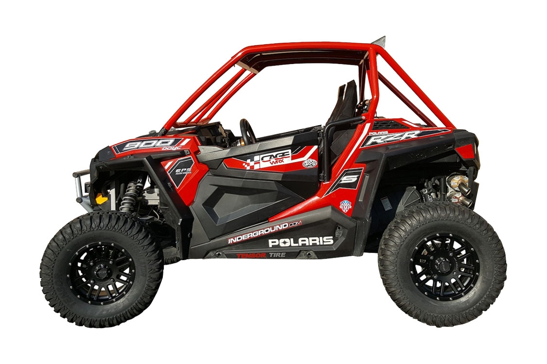 Assembled Super Shorty Polaris Rzr 900 Roll Cage